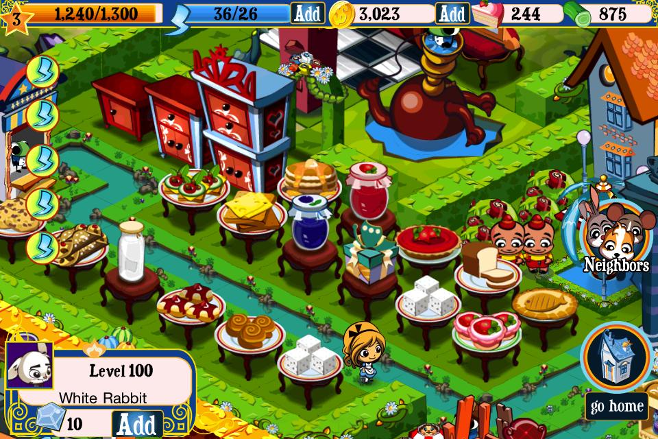 Screenshot Alice's Wonderland!